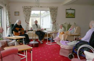 Pet Friendly Care Homes in England